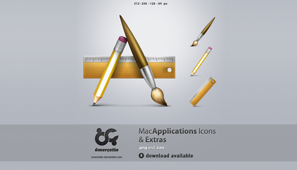 Applications Icons and Extras