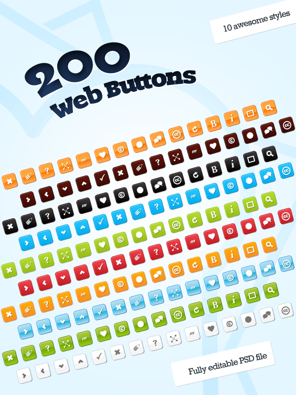 download this button set for free