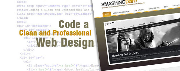Coding a Clean and Professional Web Design