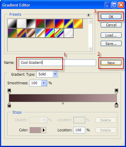 gradient tool design photoshop