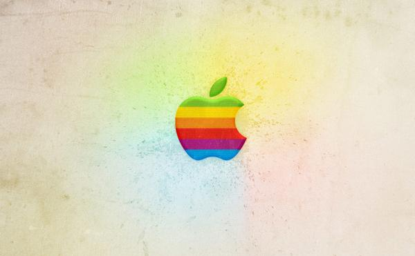 Create a Retro Apple Wallpaper