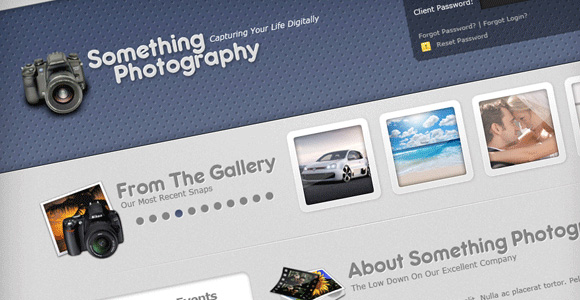 Learn To Create A Photography Style Web Layout