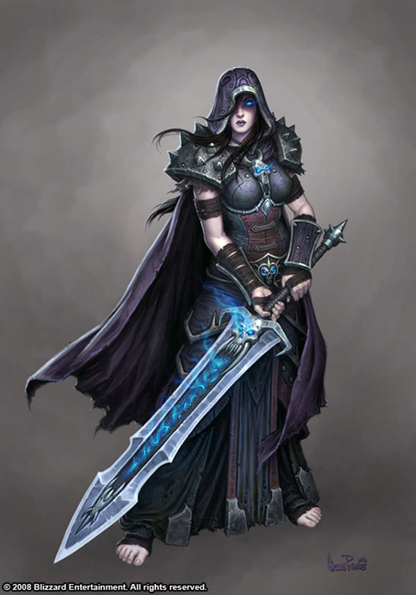 Female Death Knight