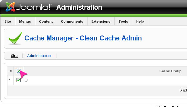 Cache Cleaner